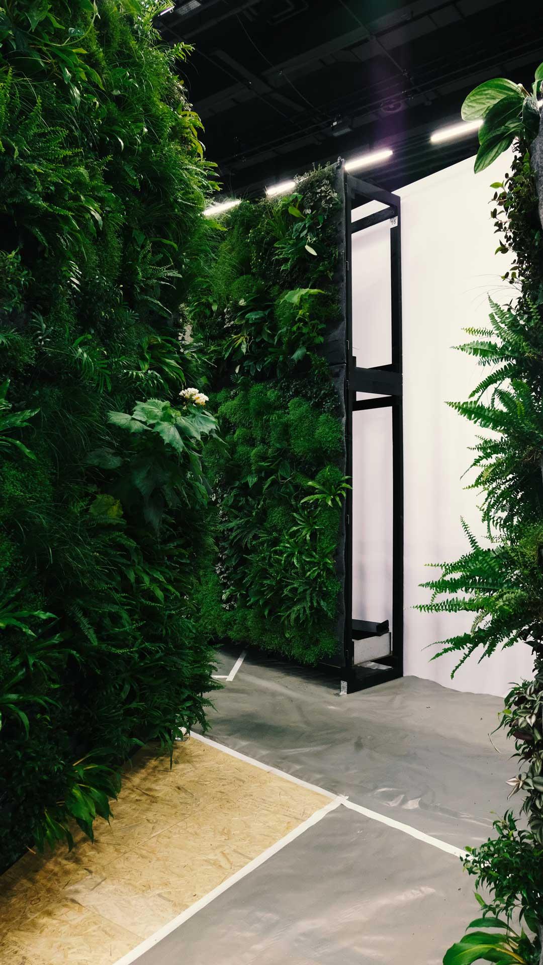 Vertical Garden System Swissbau Basel