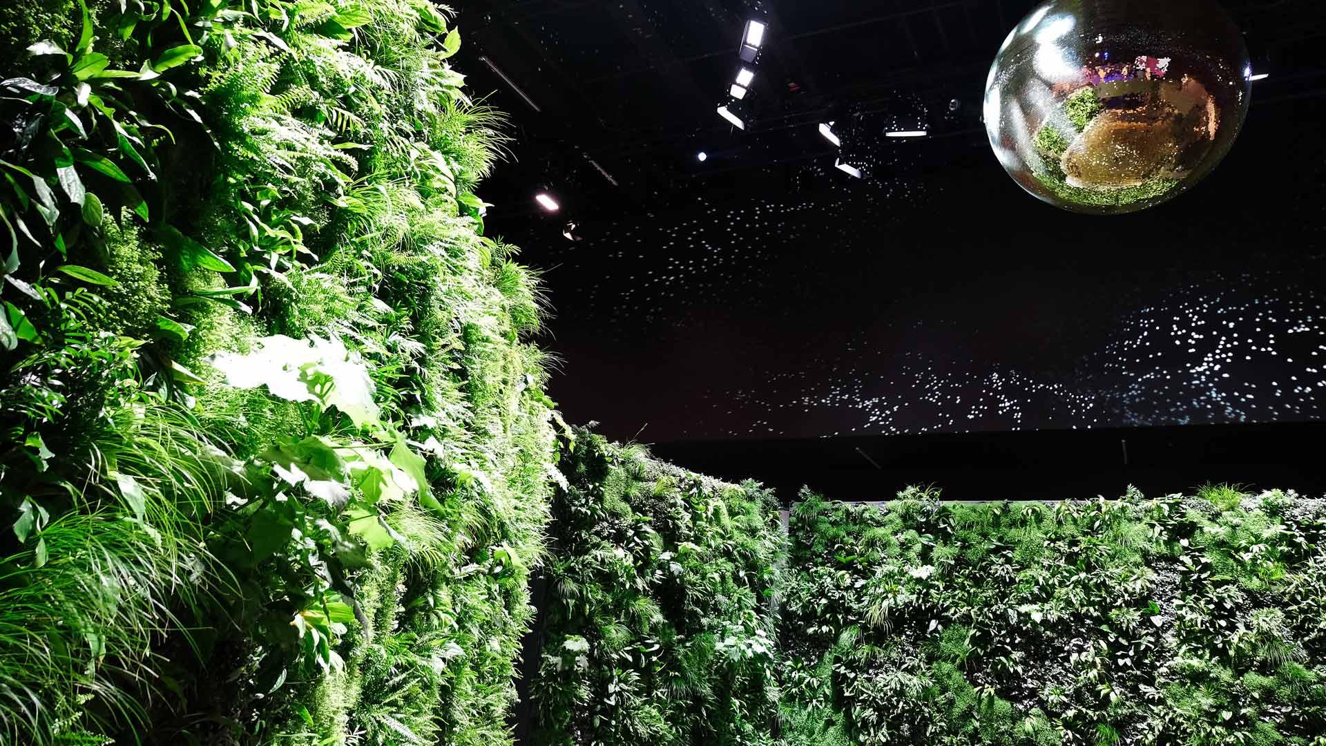 Vertical Garden Swissbau Basel Schweiz